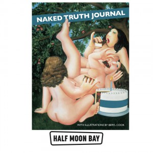 BOOKBC02 Beryl Cook - Naked Truth Journal