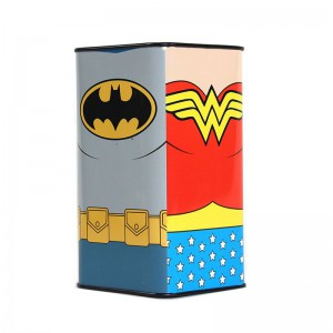 Money Box Tall - Justice League