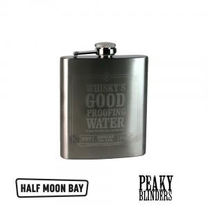 HFLKPB01 Hip Flask 7oz Boxed - Peaky Blinders Whiskey Good