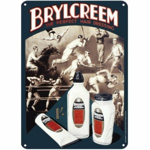 SSA5OP01 Tin Sign Small - Brylcreem