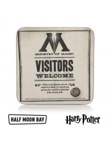 """Подложка за чаши """"Посетители в Министерство на магията"""""""