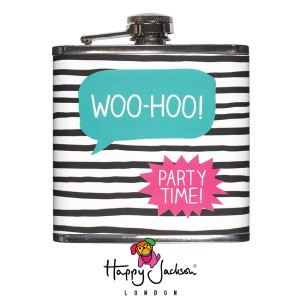 "Hip Flask  ""Woo-Hoo! Party Time!"" HAP059"
