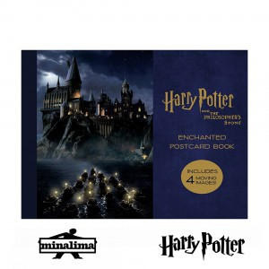 POSTHP01 Postcard Book - Harry Potter The Philisiphers Stone