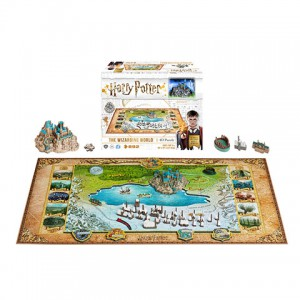 "Puzzle 4D ""Harry Potter The Wizarding World"""
