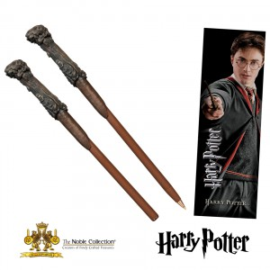 NN8636 Harry Potter Wand Pen and Bookmark