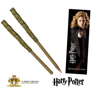 NN8634 HP Hermione Wand Pen and Bookmark