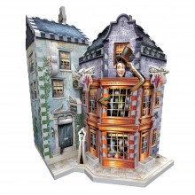 3D Puzzle Weasley's Wizard Wheezes and Daily Prophet Harry Potter 285 Pieces