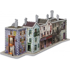 W3D1010 Harry Potter - Diagon Alley 3D Puzzle Wrebbit