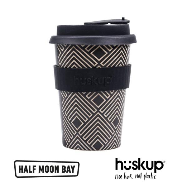 "Half Moon Bay - Оризова чаша за път ""Арт Деко Ромбове"" 1"