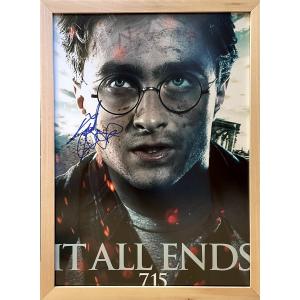 Фотография с подпис на Даниъл Радклиф | Хари Потър и Даровете на Смъртта: Първа част