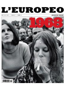 Списание L'Europeo N.2 1968 Най-дългата година   юни 2008