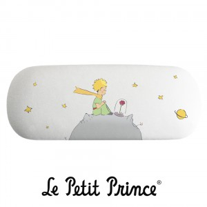BLV07G01 Glasses Case - Le Petit Prince white rose