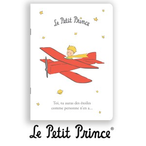 CAHA5PP15 Notebook - Le Petit Prince white