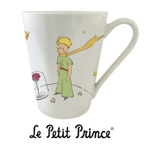 MUG07G06 Mug 350ml - Le Petit Prince rose white