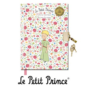 LESA607G01 Diary with Padlock 160pages - Le Petit Prince