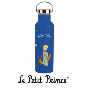 GOUTH07G01 Water Bottle 590ml - Le Petit Prince Fox blue