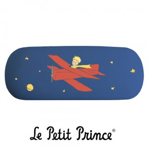 BLV07G01 Glasses Case - Le Petit Prince blue