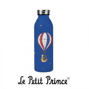 BOUTH26Z03 Water Bottle - Le Petit Prince Balloon blue