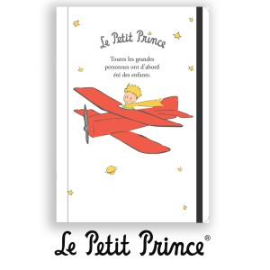 NB101 Notebook A6 Le Petit Prince white and grey