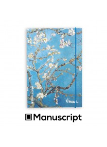 "160 стр. Bullet Journal скицник А5 - ""Бадемови цветове"" - Винсент ван Гог"