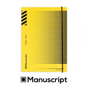 160 стр. жълт Bullet Journal А5 за техническо чертане с точки