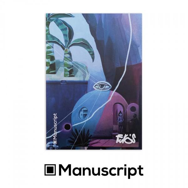 "Manuscript - 80 стр. Bullet Journal скицник А5 - ""1894"" - Риано Ферос 1"