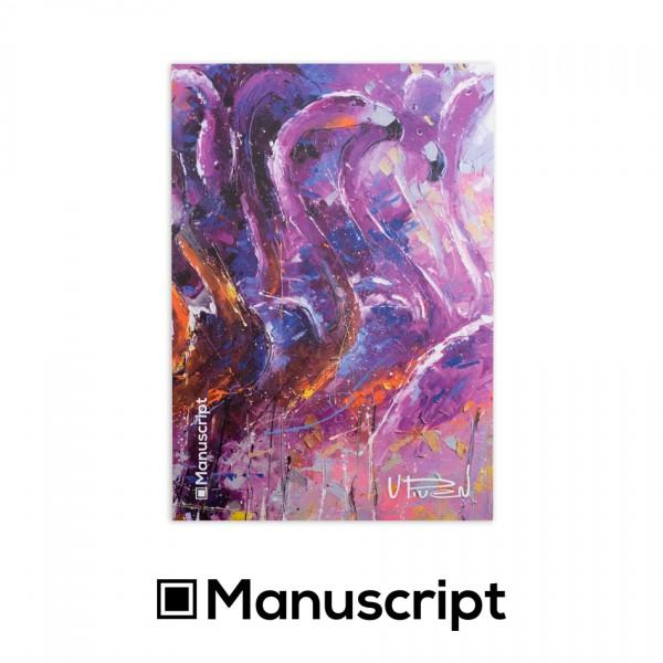 "Manuscript - 80 стр. Bullet Journal скицник А5 - ""Танц 2015"" - Владимир Пивен 1"