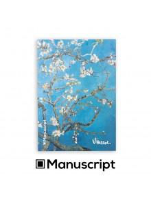 "80 стр. Bullet Journal скицник А5 - ""Бадемови цветове"" - Винсент ван Гог"