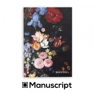 Sketchbook Manuscript A5 80 blank pages - Bruegel 1620