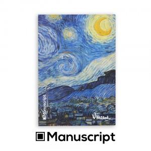 Sketchbook Manuscript A5 80 blank pages - Van Gogh 1889 S