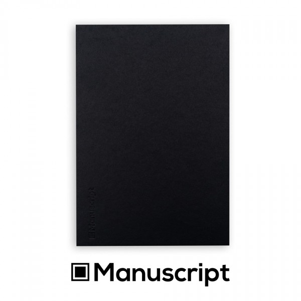 Manuscript - 80 стр. черен Bullet Journal скицник А5 1