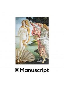 """80 стр. скицник А5 - """"Раждането на Венера"""" - Сандро Ботичели"""