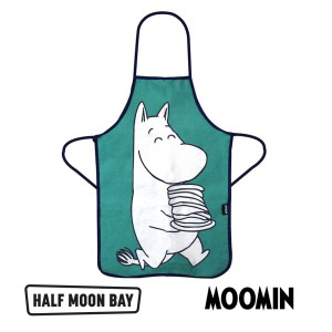APRTMO02 Apron In Gift Tin Child - Moomin Moomin Troll