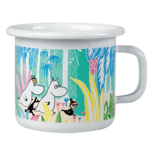 Enamel Espresso Mug Moomins in the Jungle 250 ml.