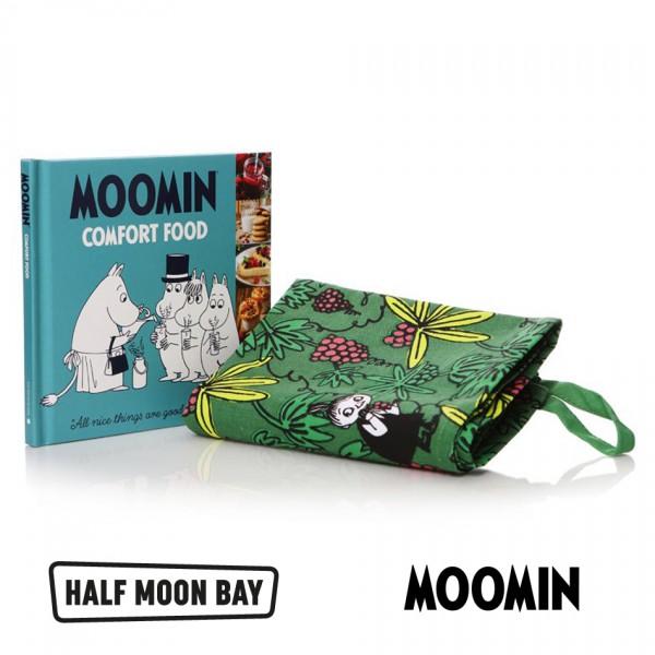 MOOMIN - Комплект Мумин кърпа и готварска книга  1