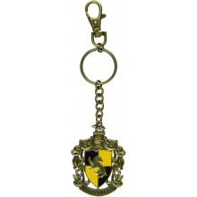 Hufflepuff Crest Keychain Harry Potter
