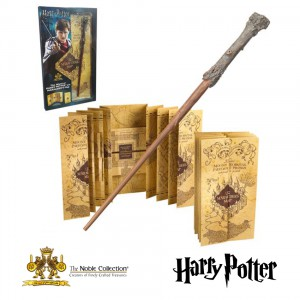 Harry Potter's Wand and The Marauders Map
