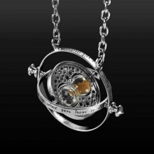 Sterling Silver Necklace The Time Turner Hermione Harry Potter