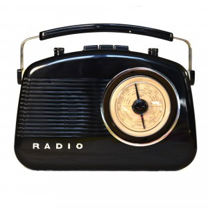 34-2D-002 60s Bluetooth Radio - Black