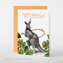 Поздравителна Картичка Честит Рожден Ден Keep It Real