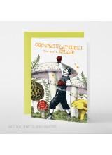Поздравителна Картичка Congratulations Champ