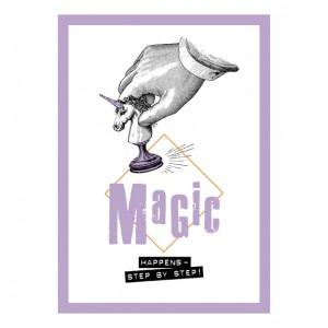 Поздравителна Картичка Magic Just Happens