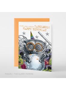 """Поздравителна картичка """"Честит рожден ден, бъдещето ти е чудесно"""""""
