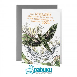 Card - With Sympathy Beautiful Soul