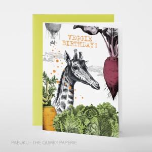 Card - Veggie Birthday