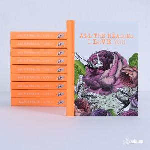 BOOKIH47 Giftbook - All The Reasons I Love You книга