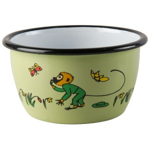 Enamel Bowl Pippi Mr. Nilsson 300 ml.