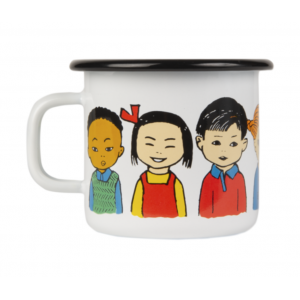 Enamel Espresso Mug Pippi of Today 250 ml.