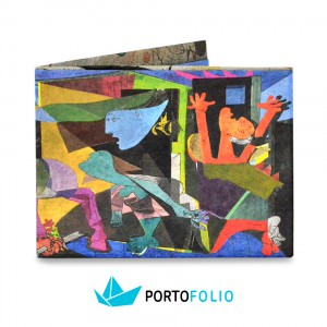 "Непромокаемо портмоне от тайвек ""Пабло Пикасо"""