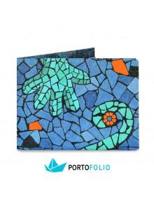 """Тънко портмоне от хартия """"Антони Гауди"""""""